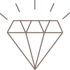 Diamond or gemstone icon